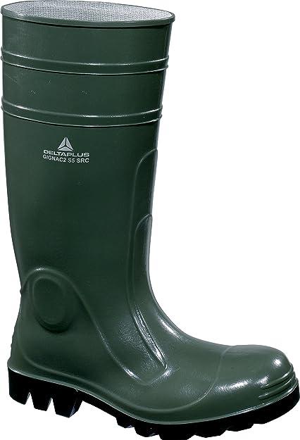 Delta plus botas - Bota seguridad gignac pvc plantilla acero verde talla 41