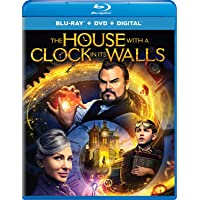 The House with a Clock in Its Walls Blu-ray + DVD + Digital