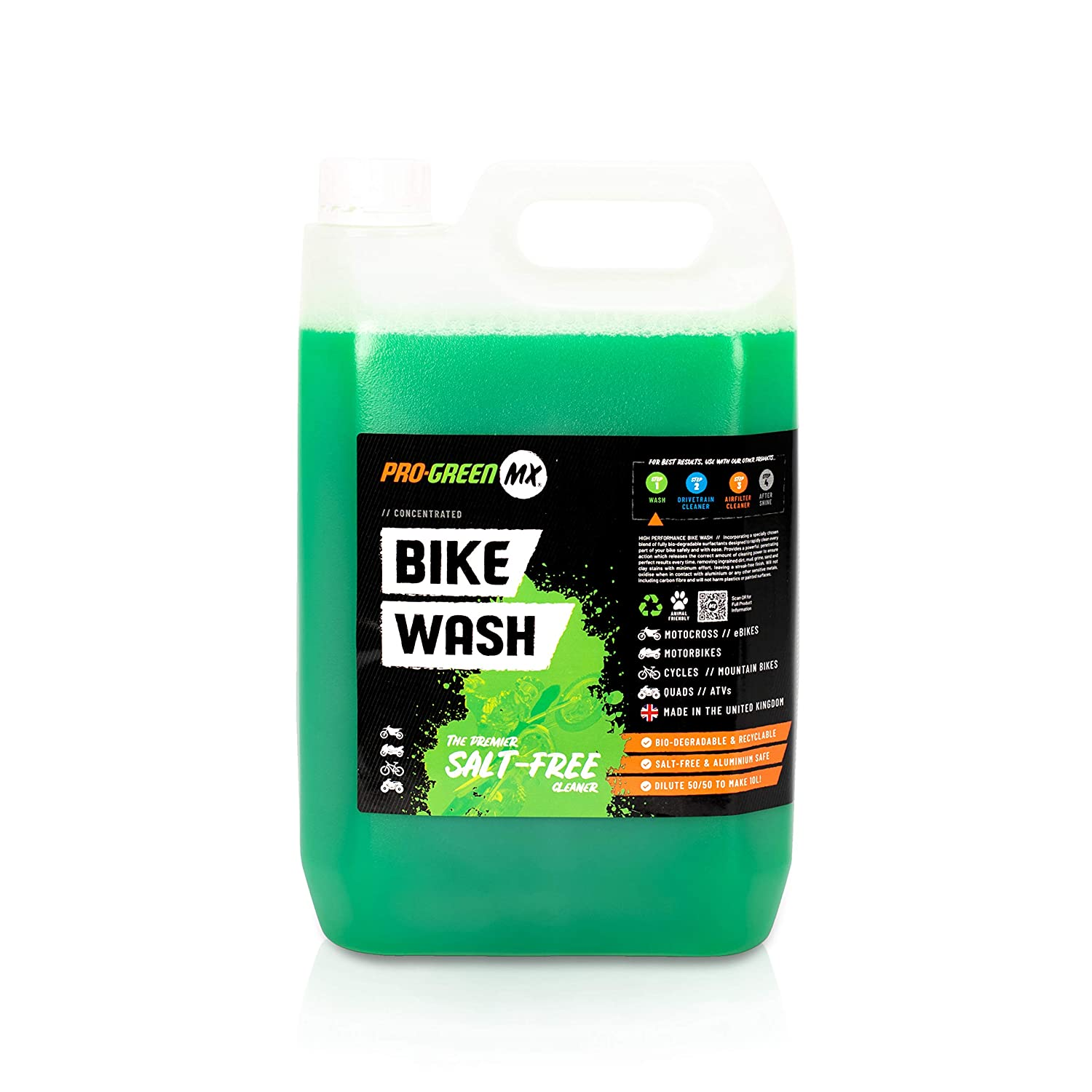 Pro-GreenMX 5ltr Concentrated Bike Wash Pro-GreenMX Ltd