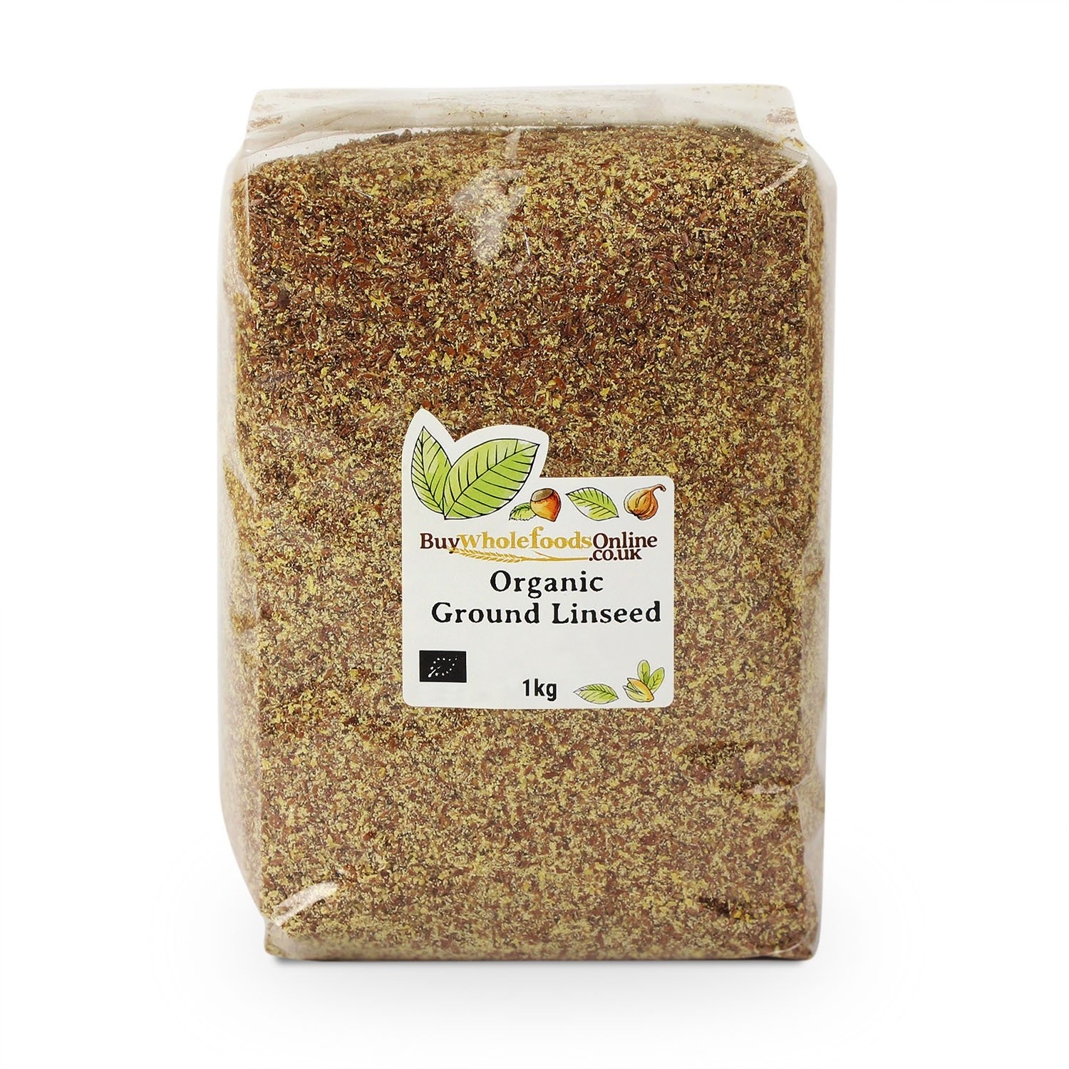 Buy Whole Foods Organic Ground Linseed 1 Kg by Buy Whole Foods