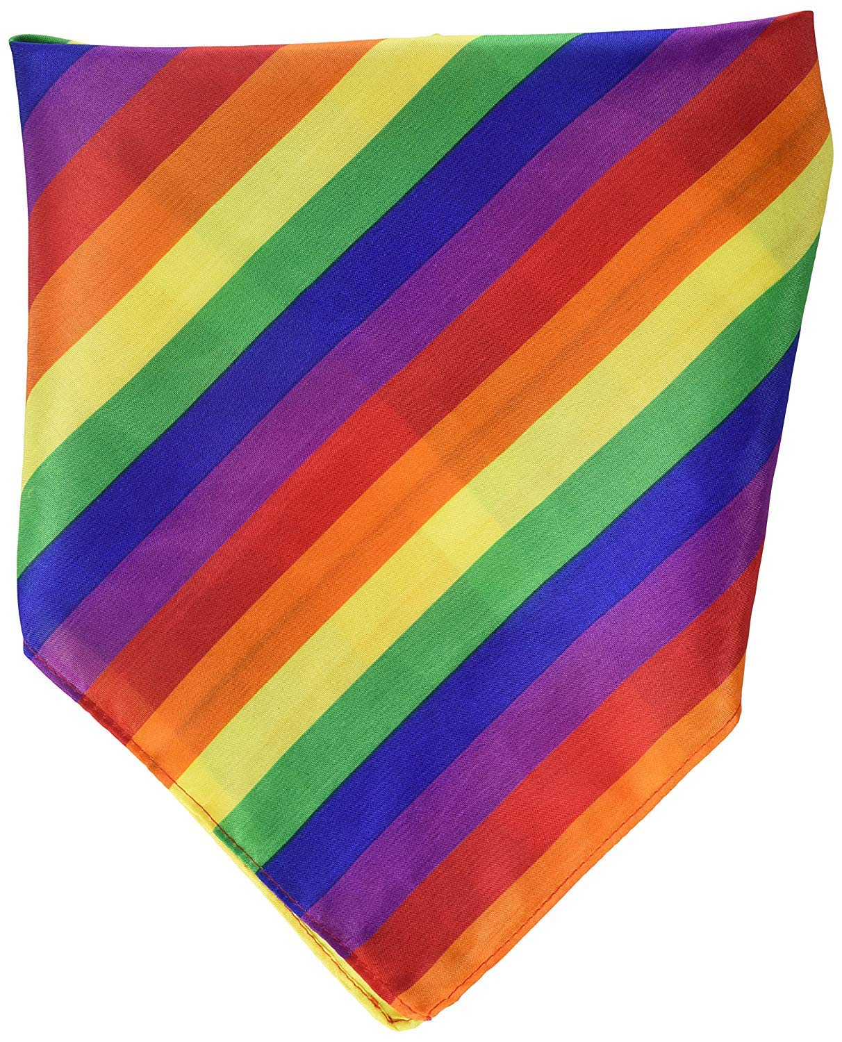 and Bandana Gay Pride Parade Rainbow Bundle Includes Beads Buttons
