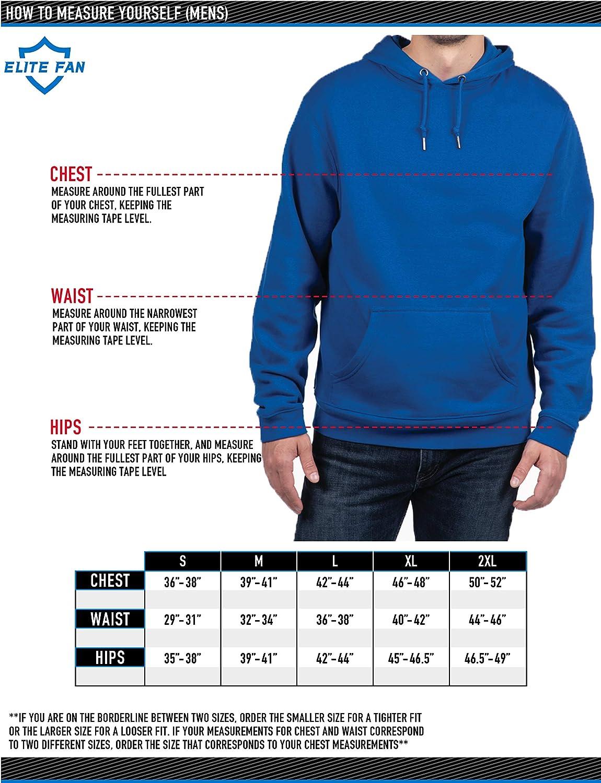 Top of the World Herren Kapuzen-Sweatshirt mit Rei/ßverschluss Zip Up Hoodie Sweatshirt Team Applique Icon