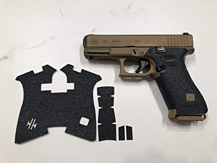 NDZ Decal TACTICAL Grips for Glock Full Size Frame 34 Generation 1 2 3 ONLY
