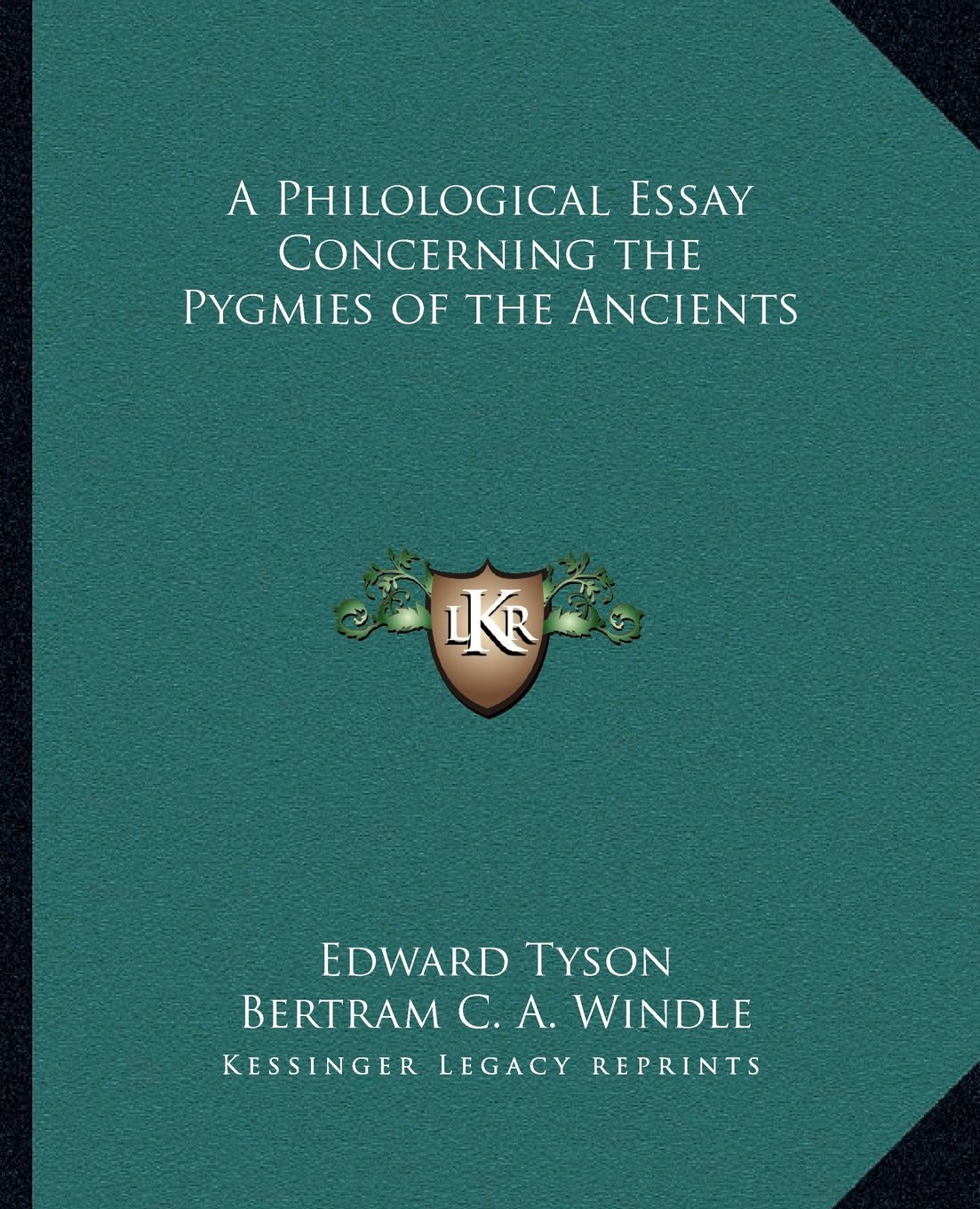 Read Online A Philological Essay Concerning the Pygmies of the Ancients pdf
