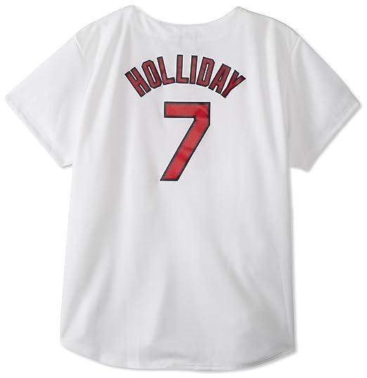 MLB St. Louis Cardinals Matt Holliday White Home Replica Baseball Women s  Jersey bac15e37ab