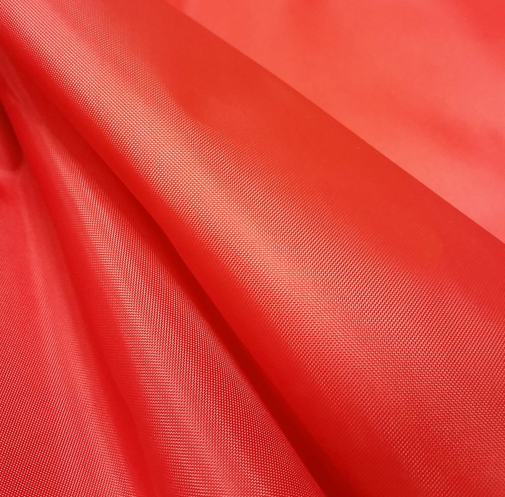 Red Nylon Fabric 5oz Waterproof Material Tent Camp Gaiters Seat Outdoor Cover