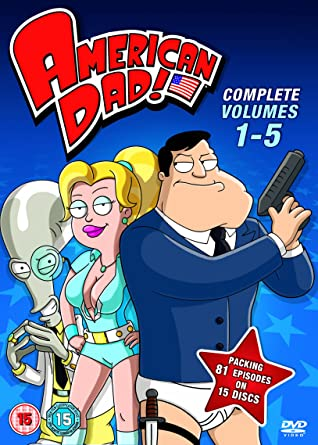 American Dad Volumes 1 5 Boxset Import Anglais Dvd Blu Ray