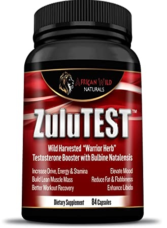 Amazon Com Zulutest Testosterone Booster For Men And Women Best