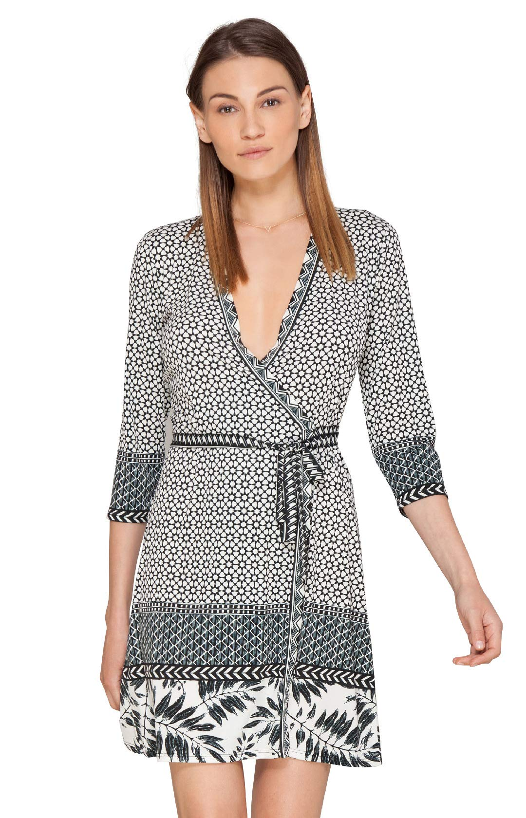 Amal Jersey Wrap Dress