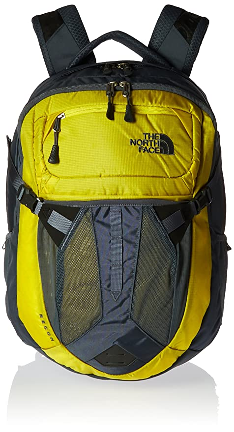 5e8ab2f0cdd Amazon.com: The North Face Recon Backpack - Acid Yellow & Turbulence Grey -  OS (Past Season): Sports & Outdoors
