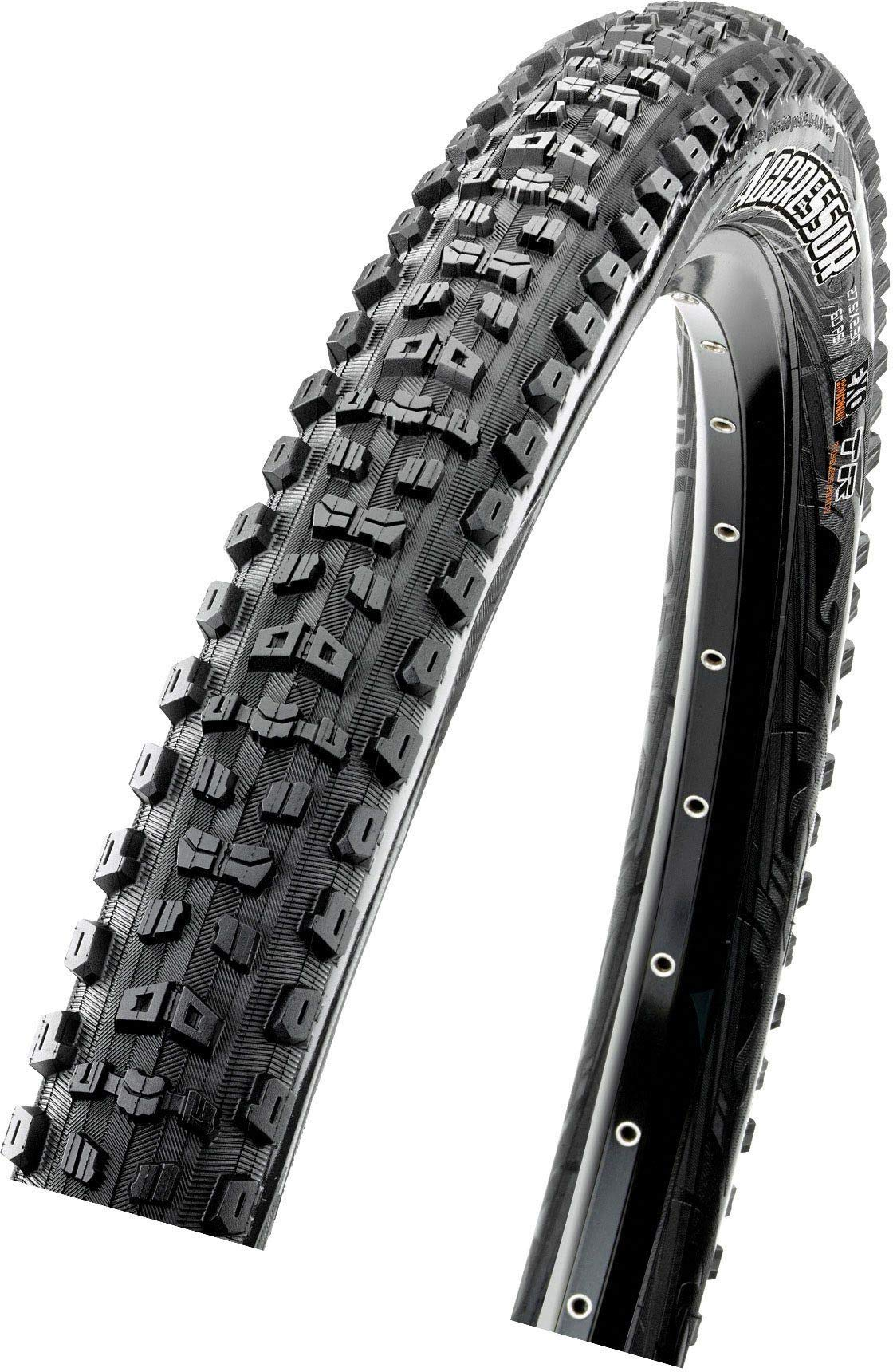 Maxxis Aggressor Wide Trail EXO/TR Tire - 27.5in Black, Dual Compound, 27.5x2.5 by Maxxis