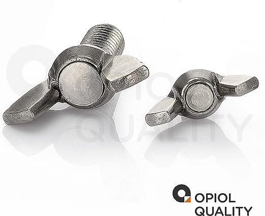 | alas Tornillo Tornillo DIN 316/Acero Inoxidable A2, de forma Americano opiol Quality Tornillos de mariposa 4/unidades