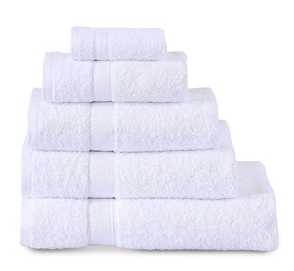 Sunrise Bedding Toallas de algodón egipcio de 600 g/m², muy suaves, cara