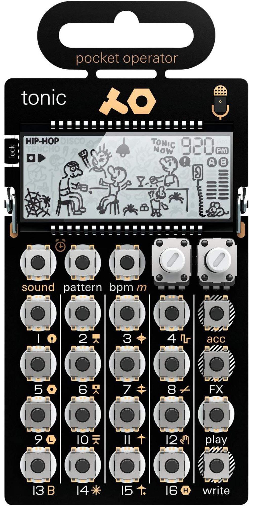 Teenage Engineering Pocket Operator PO-32 tonic Black (Certified Refurbished) by Teenage Engineering (Image #1)