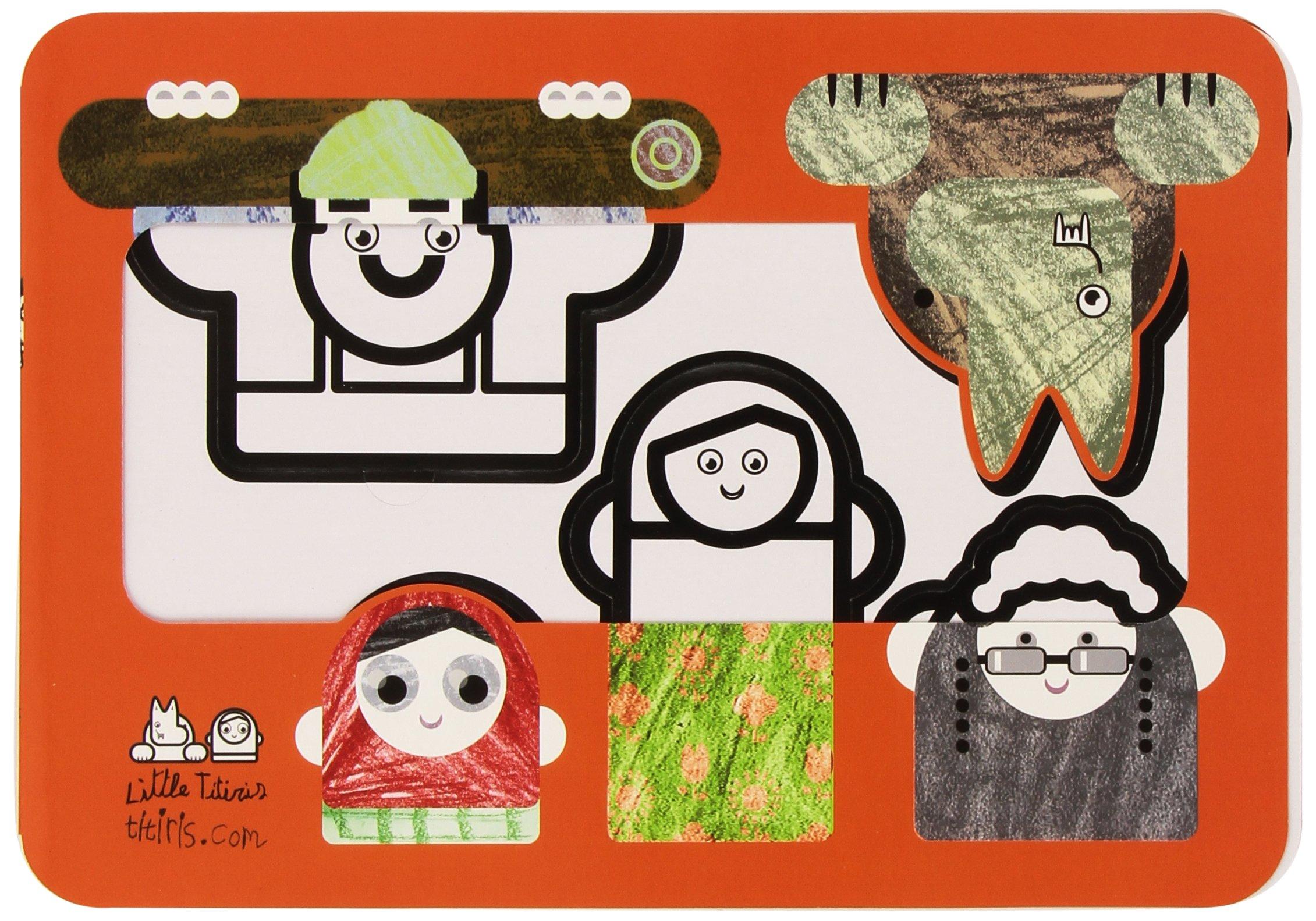 casita de carton para pintar con personajes (Spanish Edition) pdf