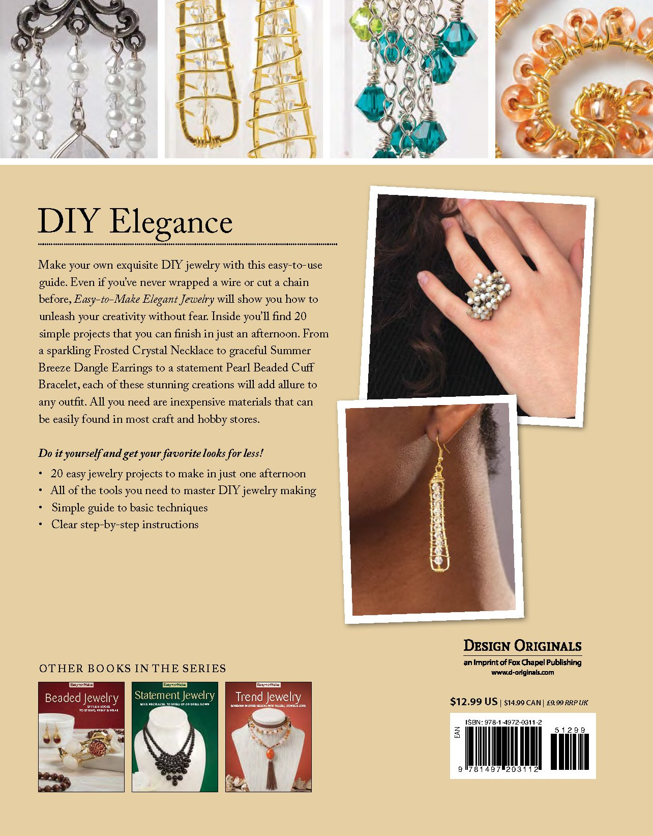 Easy to make elegant jewelry chic projects that sparkle shine easy to make elegant jewelry chic projects that sparkle shine kristine regan daniel jennifer eno wolf chloe pemberton 9781497203112 amazon books solutioingenieria Choice Image