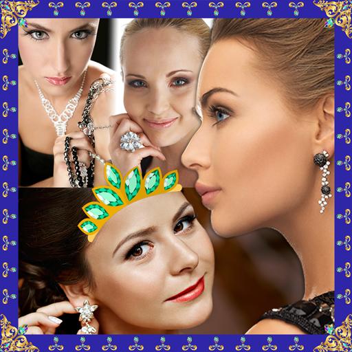 Jewelry Photo Collage