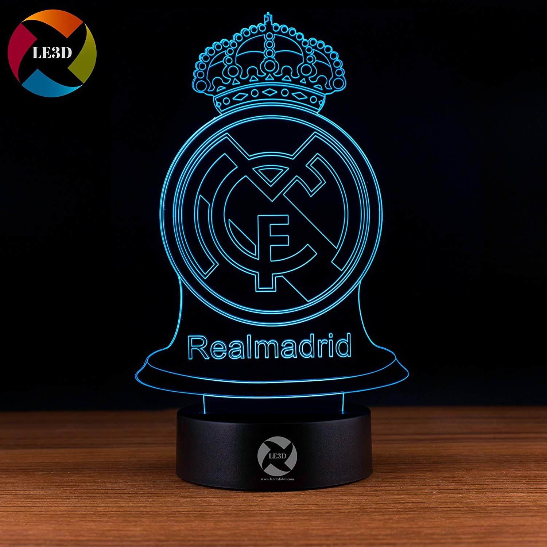3D ナイトライト B072XZT9MS 10609 Real Madrid Real Madrid