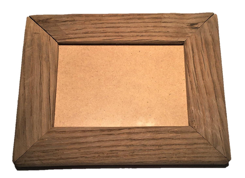Bilderrahmen 23,5x18,5cm Altholz Eiche Unikat: Amazon.de: Küche ...