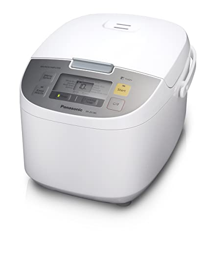 Amazon.com: Panasonic SR-ZE105 Rice Cooker, 10 Cups Cooked/5 Cups ...