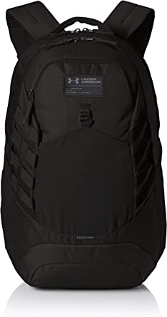 Literatura botella bostezando  Amazon.com: Under Armour Hudson Backpack, Black (001)/Black, One Size Fits  All Fits All: Clothing