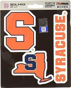 NCAA Syracuse Orange Team Decal, 3-Pack