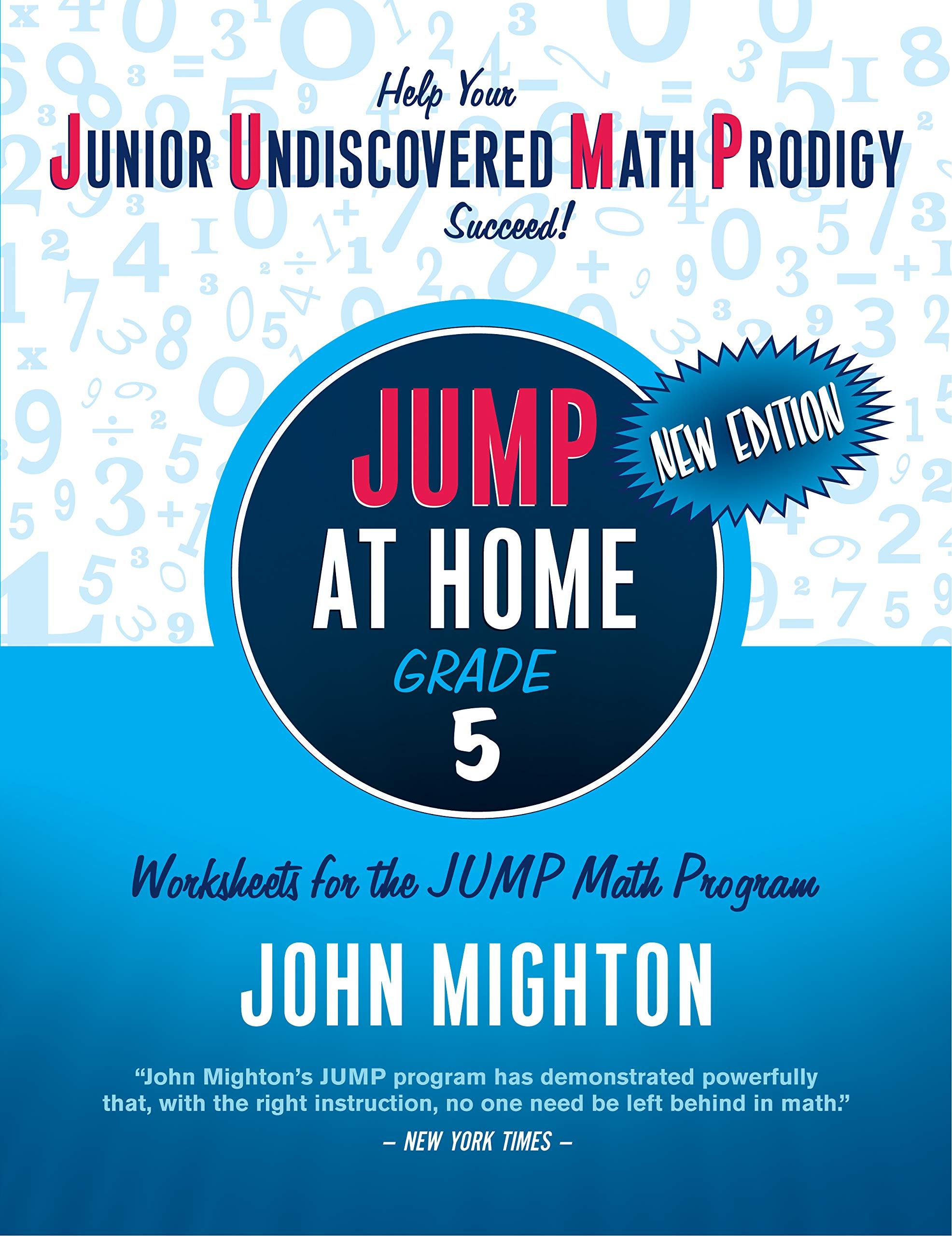 Amazon.com: JUMP at Home Grade 5: Worksheets for the JUMP Math ...