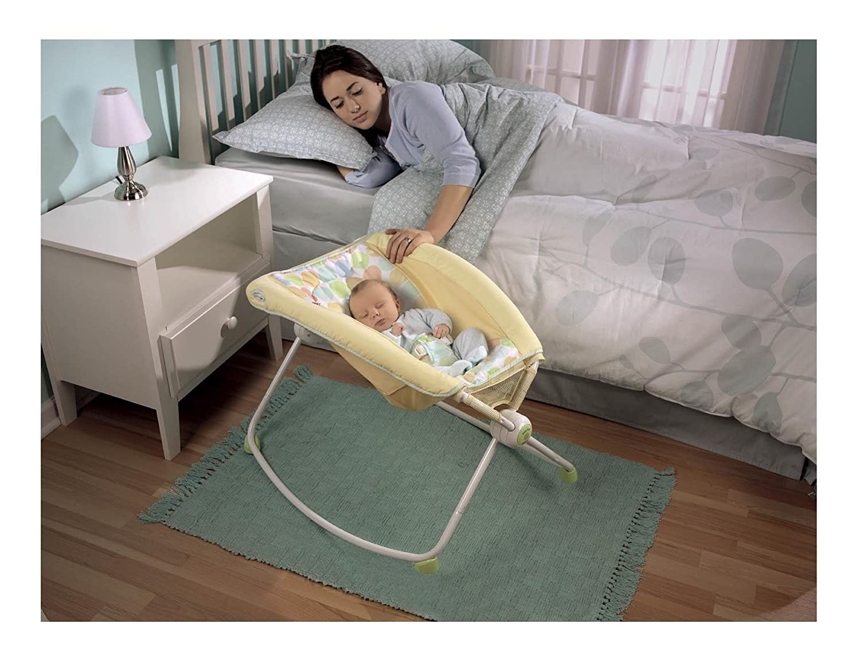 amazon    fisher price newborn rock  u0027n play sleeper yellow  baby  rh   amazon