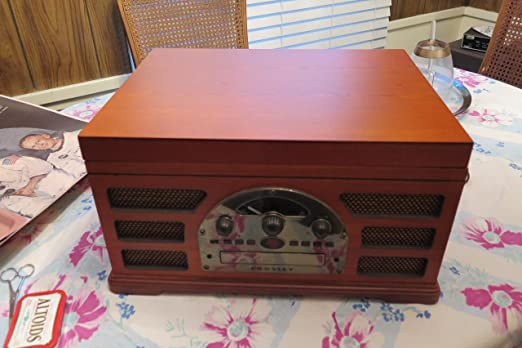 Crosley Tocadiscos estéreo sistema de sonido cr66-pa Rochester ...