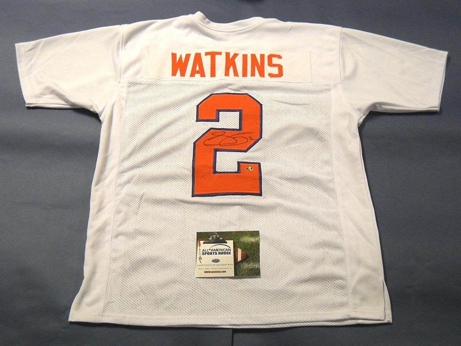 best cheap b1821 a0eb8 Jersey Amazon's Collectibles Store Watkins At Sports Tigers ...