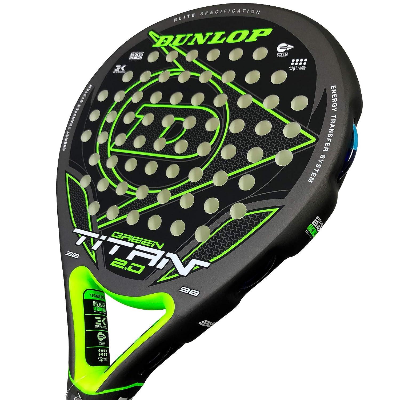 Dunlop Pala de Padel Titan 2.0 Green: Amazon.es: Deportes y ...