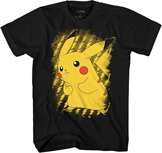 Pokemon Pikachu Pokeball Mens T Shirt