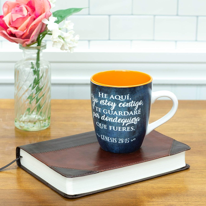 Amazon.com | Taza Biblia Hombres de Valor - Maletas: Cups ...