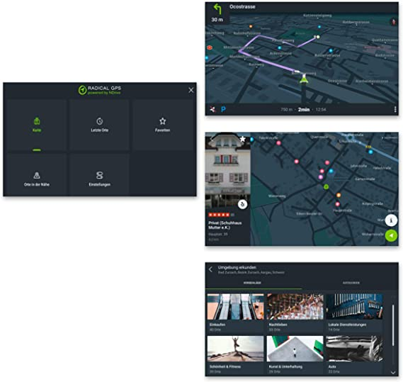 Radical R Mapc10 Ndrive Gps Navigation Software Für Die Fahrzeugspezifischen Radical Android Autoradios Freischaltcode Osm Navi Für Europa Navigation