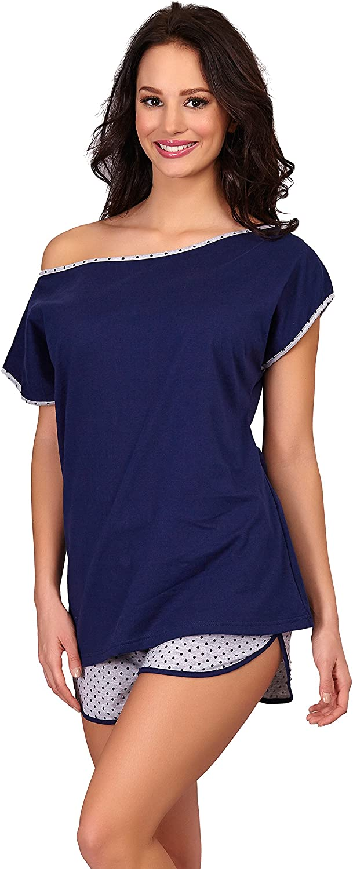 Merry Style Pijama Conjunto Camiseta y Pantalones Mujer D4R4TH6