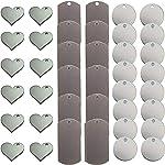 Metal Stamping Blanks for Engraving or Stamping: Metal Heart Blanks, Dog