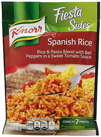 Knorr Fiesta Sides: Bolsas de arroz español (Pack de 4 ...