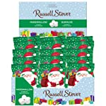 Russell Stover Christmas Marshmallow Santa Milk Chocolate Box, 36 Count, 1,008g