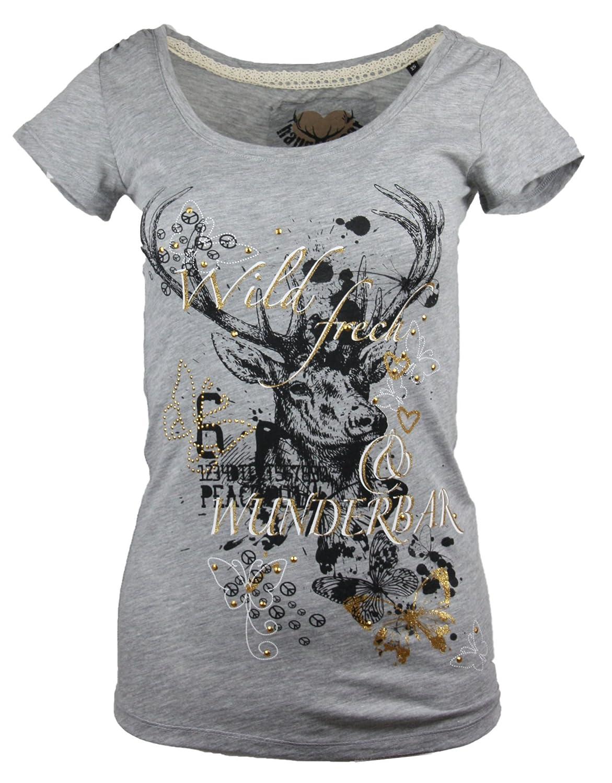 Marjo Damen T-Shirt Grit