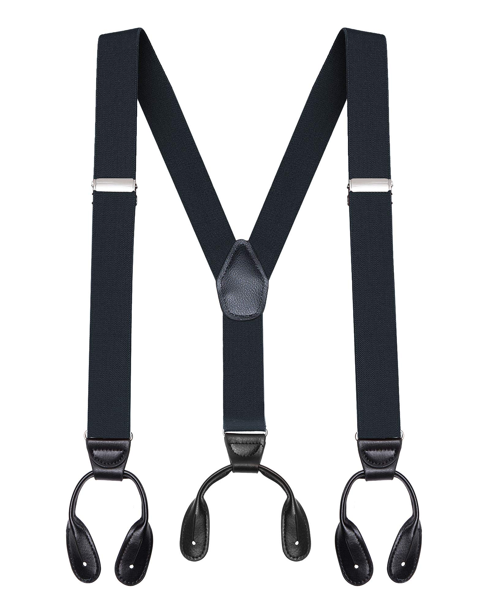 Ruler Print Custom LeatherCraft 110RUL Heavy Duty Tape Rule Elastic Suspenders