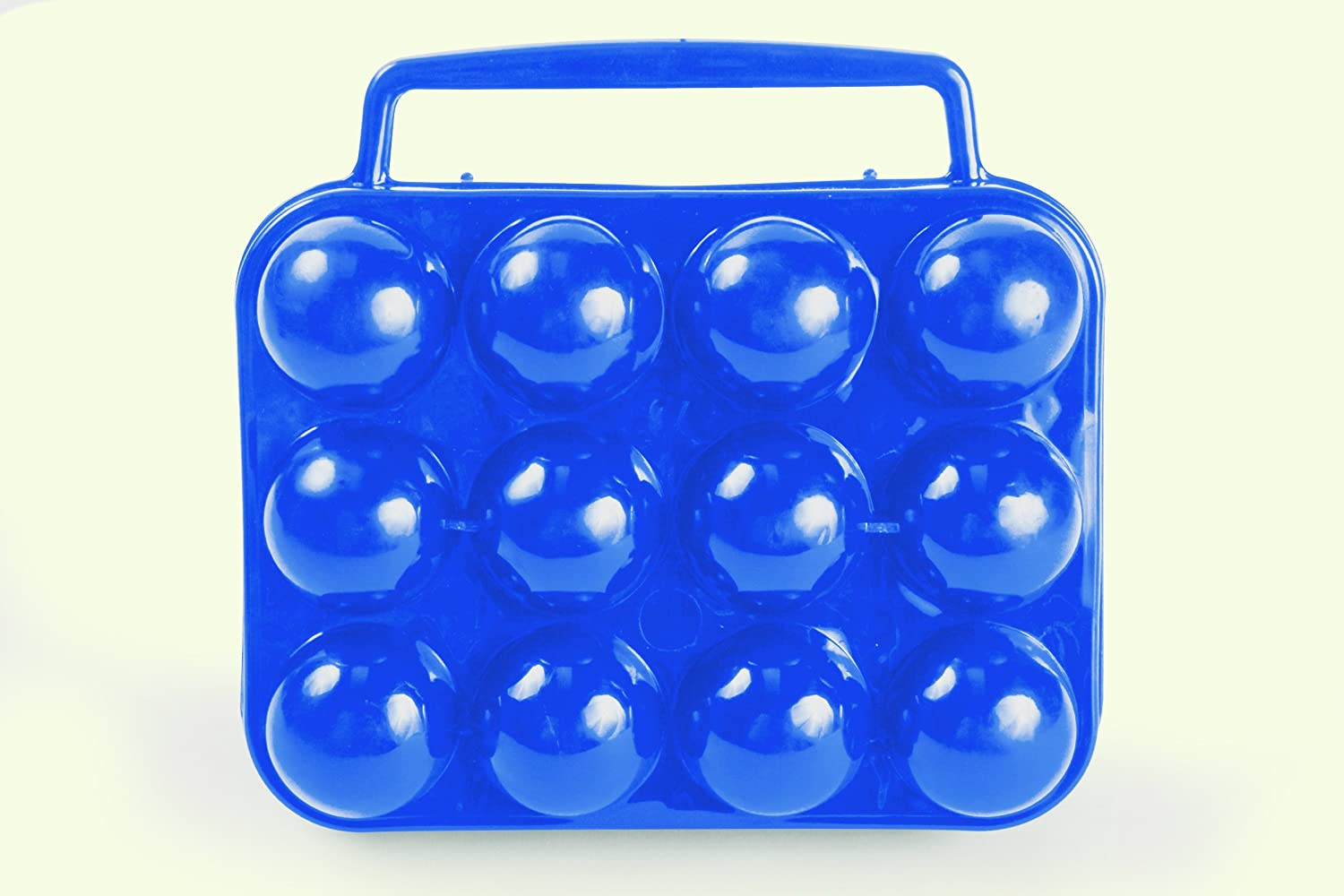 Camco Egg Carrier-Holder - Organize Eggs and Prevent Eggs from Cracking, Easily Fits into Your Refrigerator , Great for RV, Trailer and Camper Kitchens or CampingHolds A Dozen of Eggs (51015)
