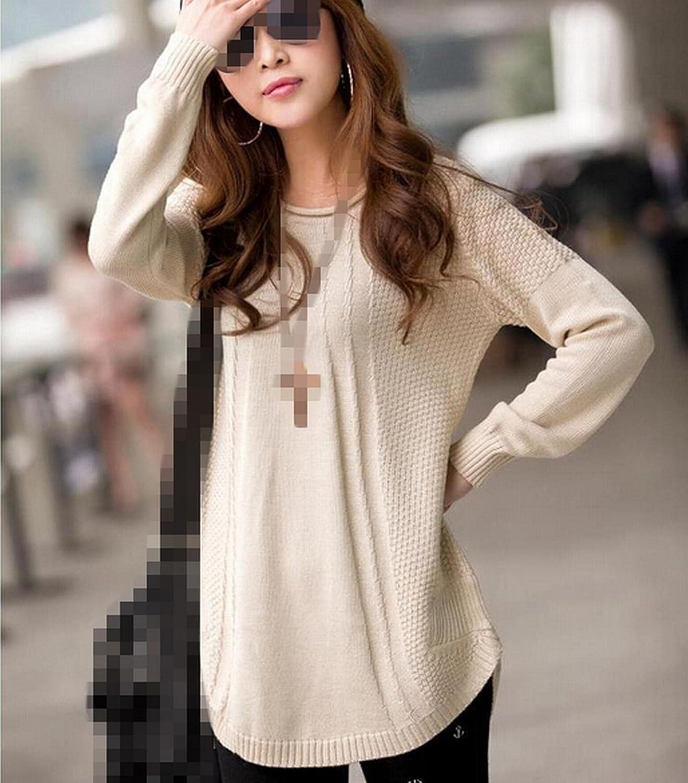 Amazon.com: bestal de la mujer Loose Knitting Crochet ...