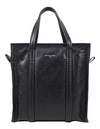f39f3fe2646 Amazon.com : Balenciaga Black Pebbled Leather Bazar Shopper Arena Small Tote  Bag : Baby