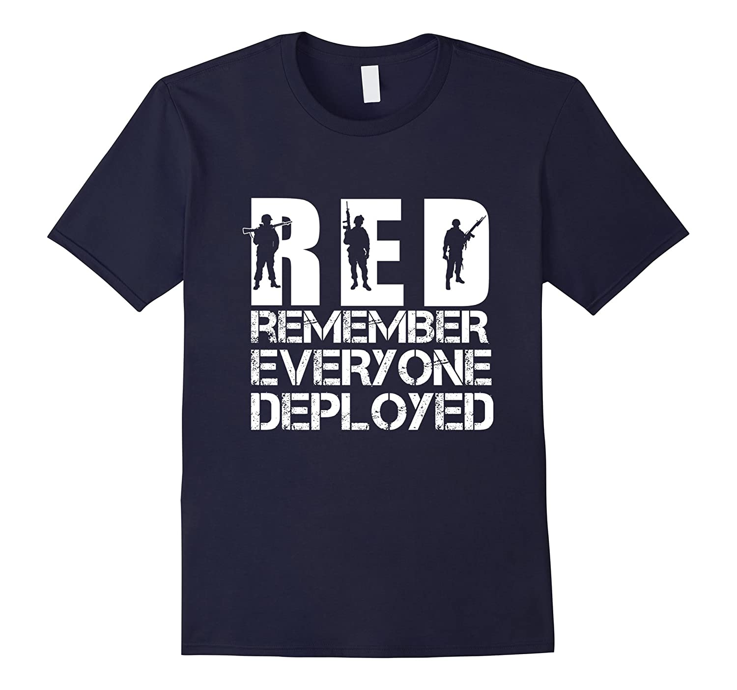 Remember Everyone Every Veterans was Deployed T-shirt-Art
