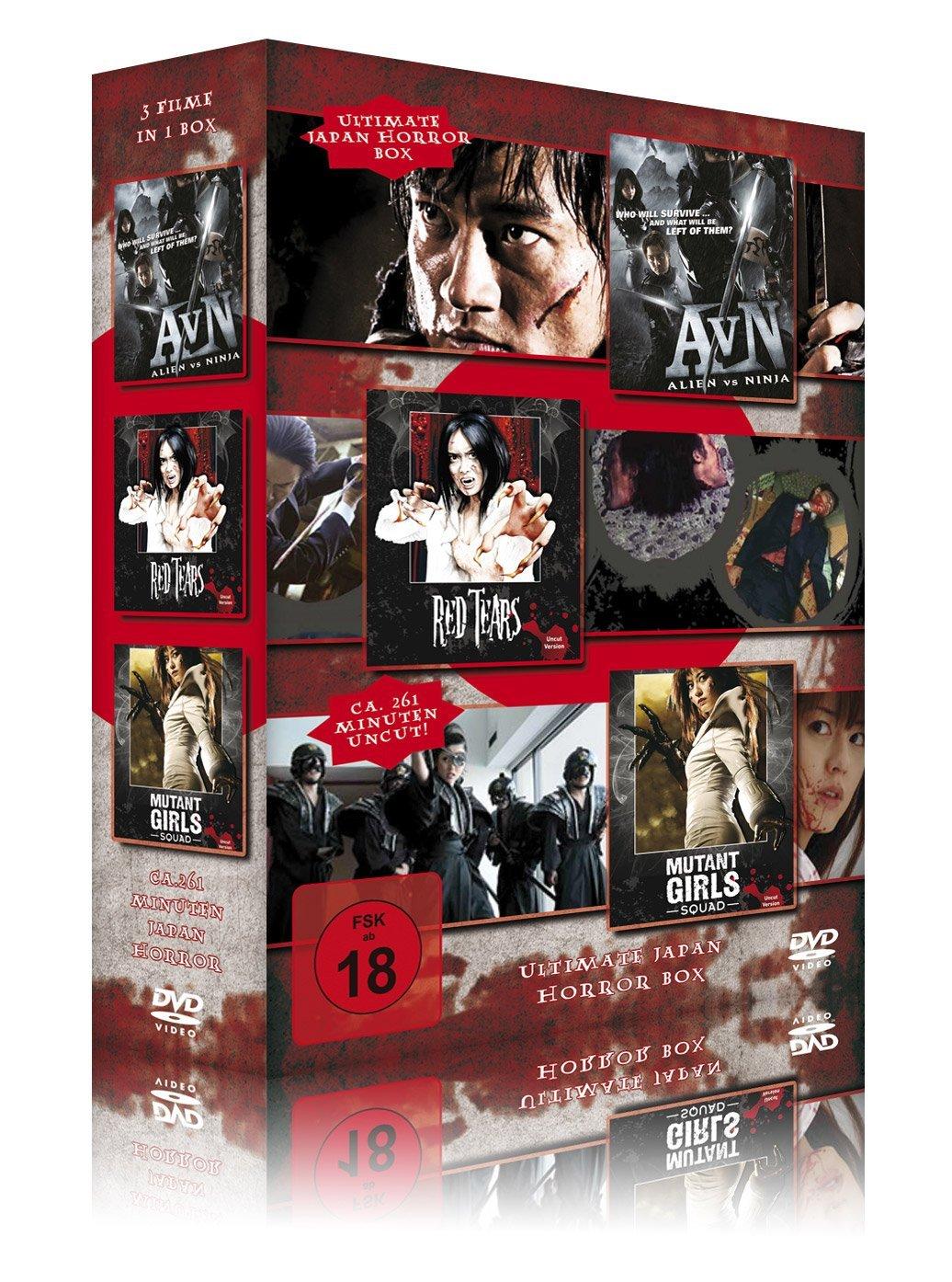 Ultimate Japan Horror Box 3er Schuber: Alien vs. Ninja - Red ...