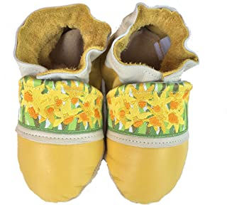 product image for DAFFODIL Handmade in USA, All-Natural Leather Baby Shoes.