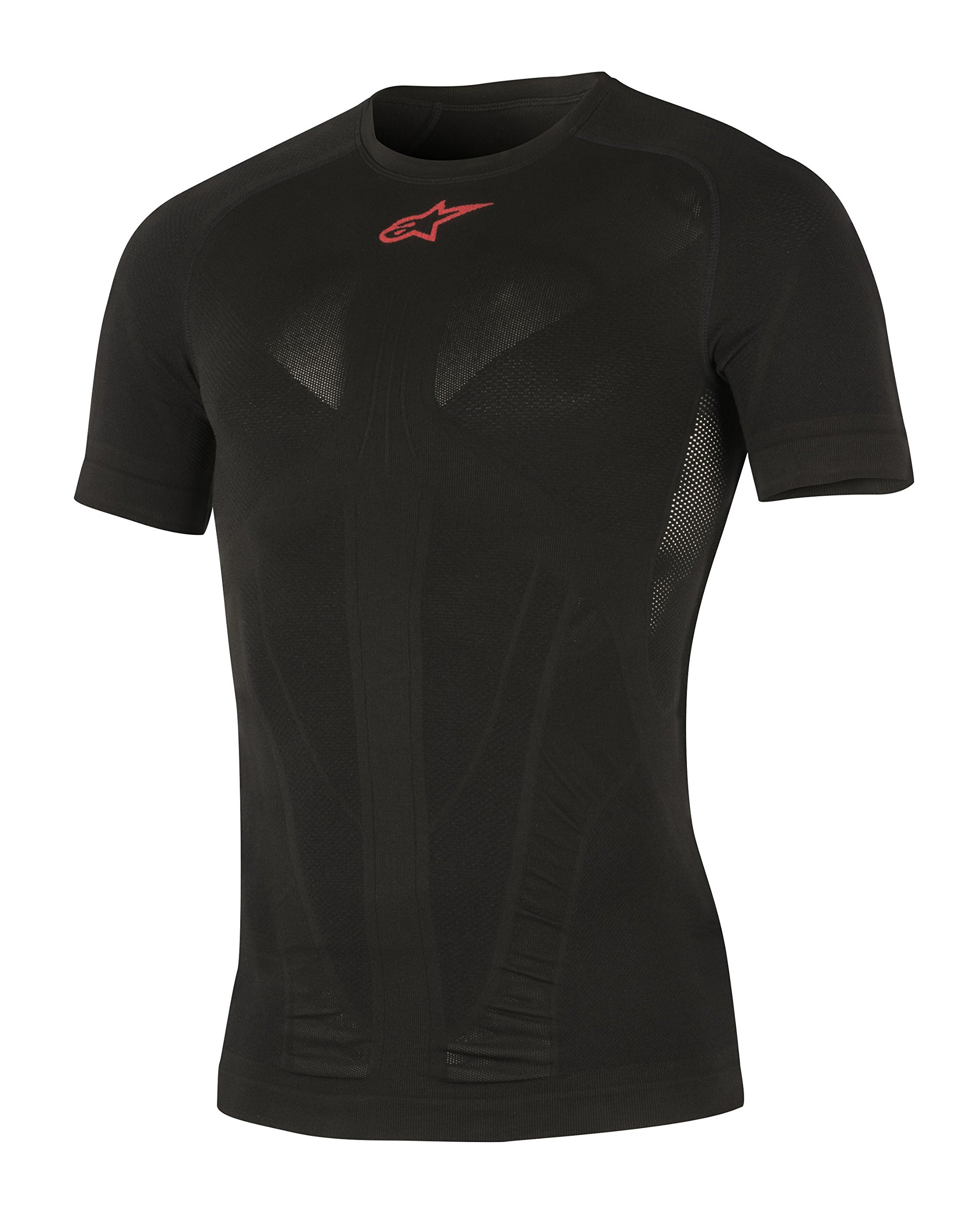 Alpinestars Tech Top Short Sleeve Summer Top, Black Red, X-Large/XX-Large