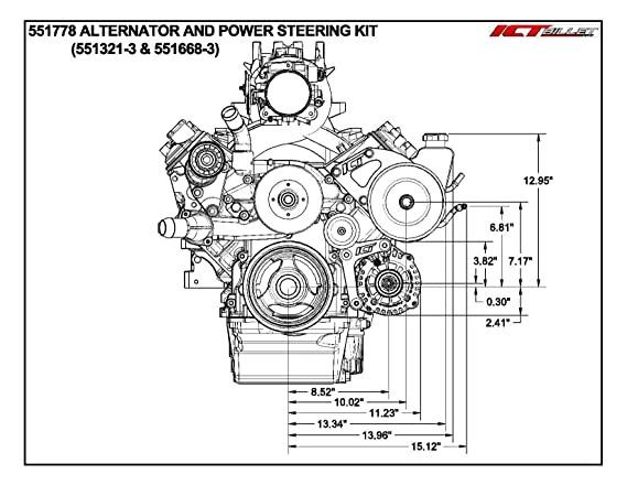 ls1 mount dimensions wiring diagram database GM 350 Crate Engine Truck amazon 5 3l ls heavy duty saginaw truck power steering pump chevrolet engine dimension amazon 5