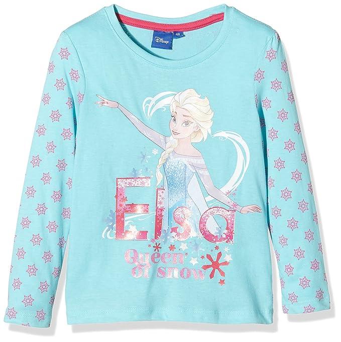 Disney Frozen Queen Forever, Camiseta para Niñas: Amazon.es: Ropa y accesorios