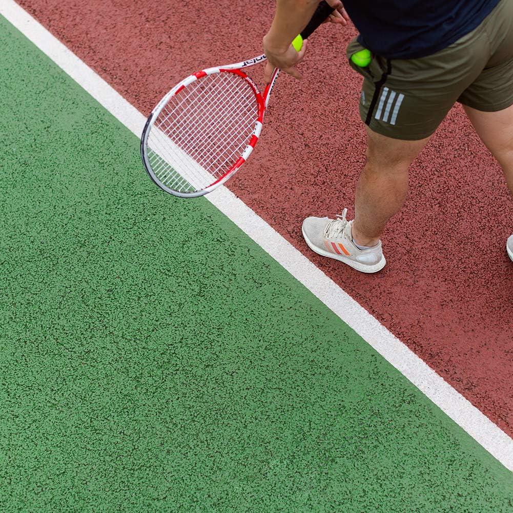 Angelikashalala canne da pesca Confezione da 10 impugnature per racchette da badminton e racchette da badminton di ricambio antiscivolo per impugnatura da squash assorbente per tennis badminton